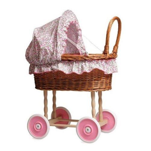 Egmont Egmont Toys - Poppenwagen - Riet - Bloemen