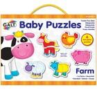Galt Galt - Baby puzzel - Boerderij - 6x2st.