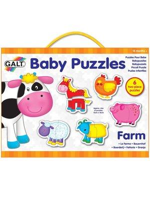 Galt Baby puzzels - Boerderij - 6x2st.