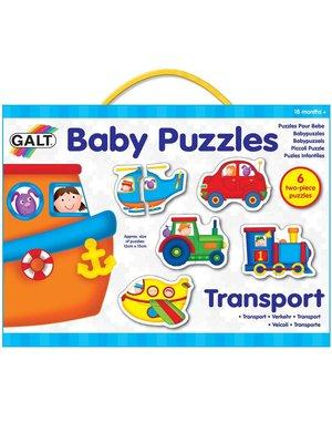 Galt Baby puzzels - Voertuigen - 6x2st.