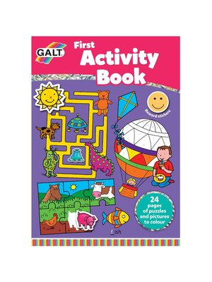 Galt Galt - Kleuren - Eerste activiteitenboek