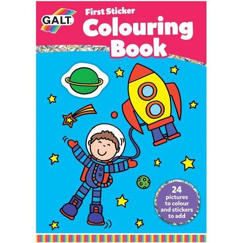 Galt Galt - Kleuren - Eerste sticker/kleurboek