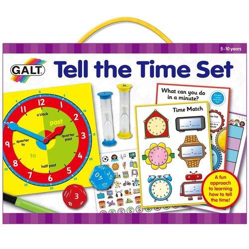 Galt Galt - Leren klokkijken - Engelstalig