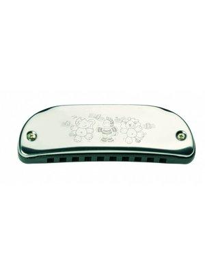 Goki Mondharmonica - 10 Tonen - 10,5cm - Metaal