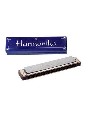 Goki Goki - Mondharmonica - 10 tonen - 10cm - Metaal