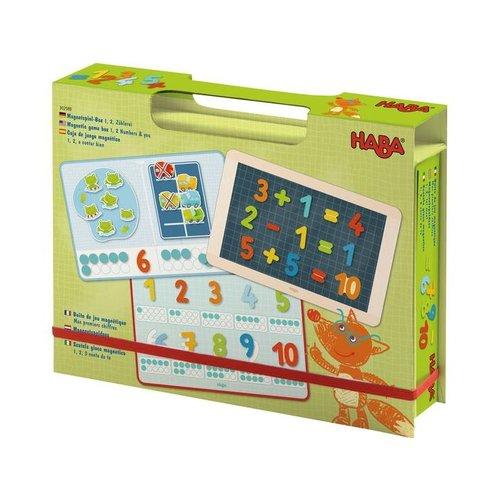 Haba Haba - Magneetdoos - 1,2, tel mee! - 3+