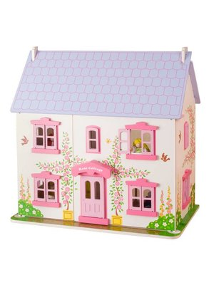 BigJigs Bigjigs - Poppenhuis - Rose Cottage