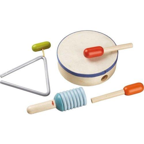 Haba Haba - Muziekinstrumenten - Slagwerkset - 5dlg.