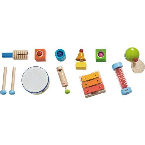 Haba Haba - Muziekinstrumenten - Hout - 11dlg.