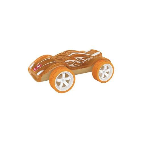 Hape - Bamboe auto - Oranje