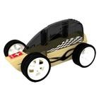Hape Hape - Bamboe auto - Zwart