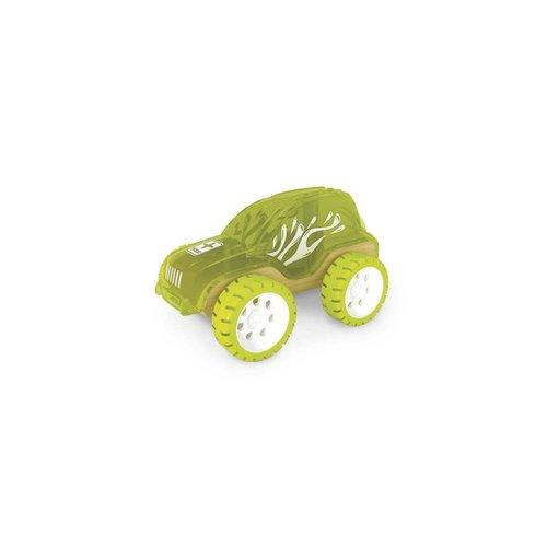 Auto - Bamboe jeep - Groen