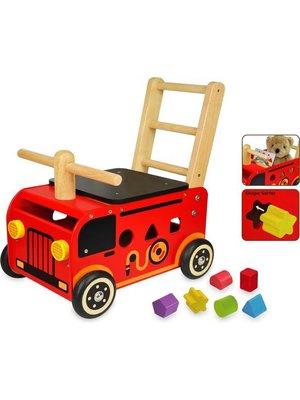 I'm Toy I'm Toy - Loop/duwwagen - Brandweer