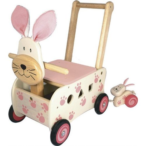 I'm Toy I'm Toy - Loop/duwwagen - Konijn - Roze