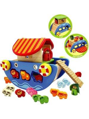 I'm Toy Speelset & vormenstoof - Ark van Noach