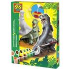 SES SES - Gips gieten & schilderen - Dinosaurus