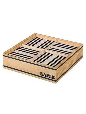 Kapla Kapla - 100 Plankjes - Zwart & wit
