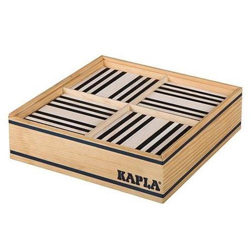 Kapla Plankjes - Kapla - Zwart & wit - 100st.