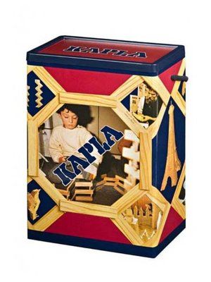 Kapla Kapla - 200 Plankjes - Blank - In doos