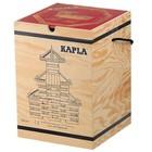 Kapla Kapla - 280 Plankjes - Blank - In kist - Met rood boek