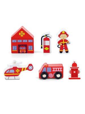 Vigatoys Vigatoys - Speelfiguren - Brandweer - 7dlg.