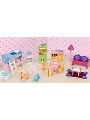 Le Toy Van Le Toy Van - Meubelset voor poppenhuis - Deluxe