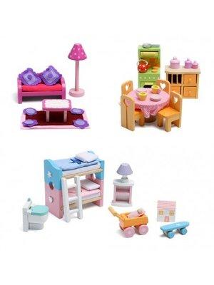 Le Toy Van Poppenhuis accessoires - Meubelset - Deluxe