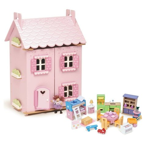 Le Toy Van Poppenhuis - Droomhuis - Incl. meubels