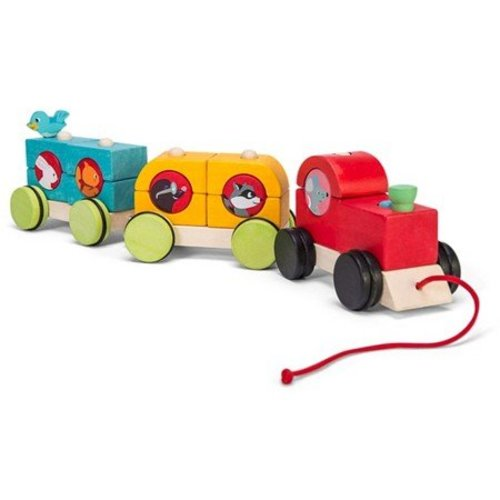 Le Toy Van Le Toy Van - Stapeltrein - Woodland Express