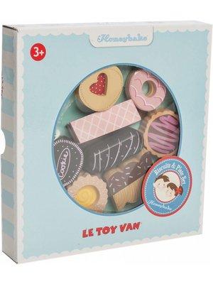 Le Toy Van Speelgoedeten - Dienblad - Met koekjes