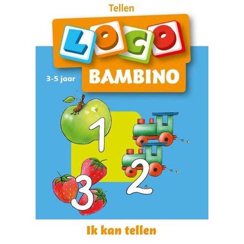 Loco Leerspellen Loco Bambino - Ik kan tellen - 3/5 Jaar