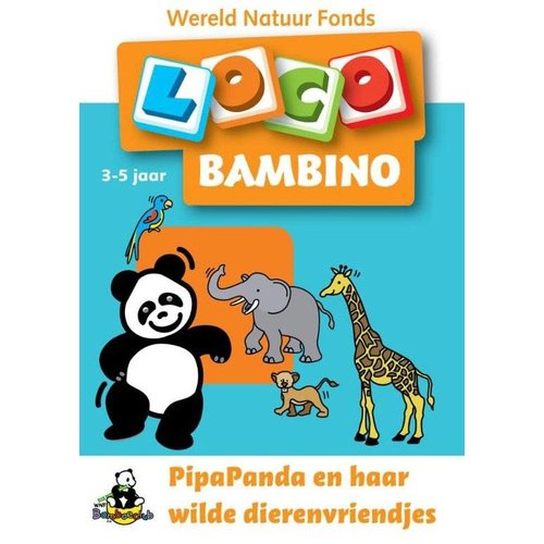 Loco Leerspellen Loco Bambino - PipaPanda & haar wilde dierenvriendjes - 3/5 jaar - WNF