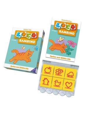 Loco Leerspellen Loco Bambino - Spelen met Dikkie Dik - Pakket - 3/5 jaar