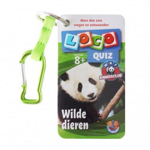 Loco Leerspellen Loco - Quiz - Wilde dieren