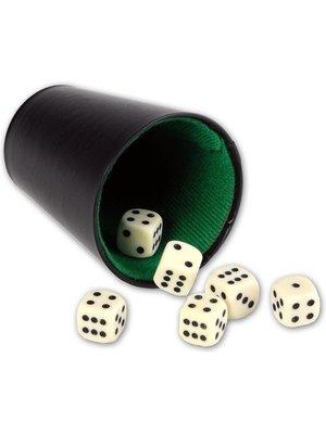 Engelhart Dobbel/pokerbeker - 9cm
