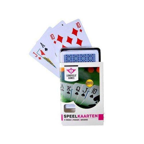 Engelhart Kaartspel - Speelkaarten - 100% Plastic