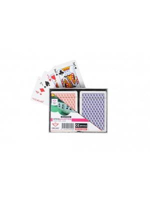 Engelhart Kaartspel - Speelkaarten - Poker/bridge - In luxe doosje