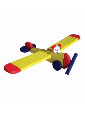 Van Dijk Toys Van Dijk Toys - Vliegfiguur - Vliegtuig