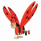 Van Dijk Toys Van Dijk Toys - Vliegfiguur - Lieveheersbeestje
