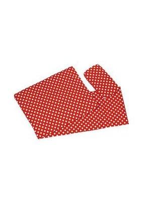 Van Dijk Toys Van Dijk Toys - Bedbekleding/dekje - Rood met witte stippen