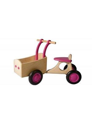 Van Dijk toys Bakfiets - Roze