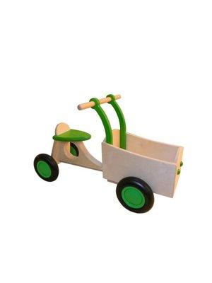 Van Dijk toys Bakfiets - Lime groen