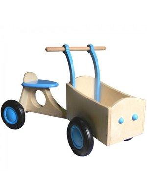 Van Dijk toys Bakfiets - Licht blauw