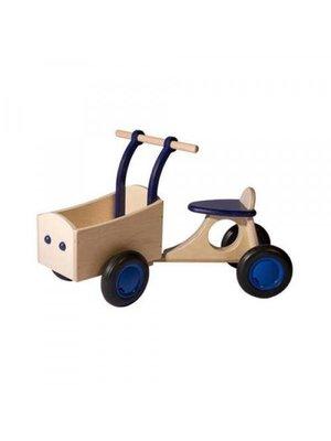 Van Dijk toys Bakfiets - Donker blauw