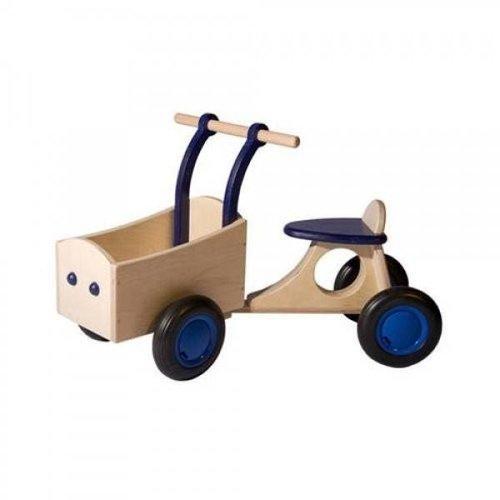 Van Dijk Toys Van Dijk Toys - Bakfiets - Donkerblauw