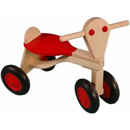 Van Dijk Toys Van Dijk Toys - Loopfiets - Berken - Rood - 1+