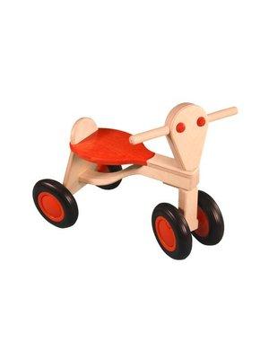 Van Dijk toys Loopfiets - Oranje - Berken - 1+