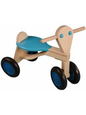 Van Dijk toys Loopfiets - Licht blauw - Berken - 1+