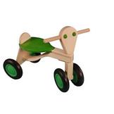Loopfiets - Groen - Berken - 1+ - in Houten Speelgoed
