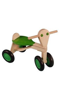 Van Dijk toys Loopfiets - Groen - Berken - 1+